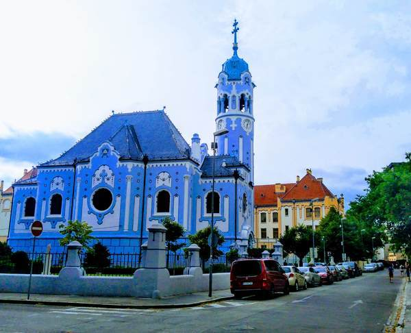 聖エリザベス教会の外観