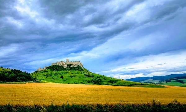 スピシュ城の外観