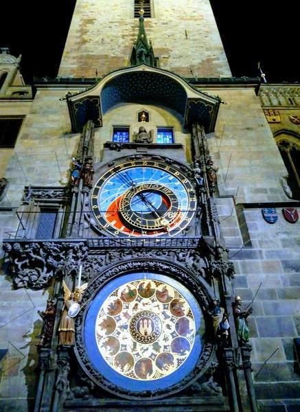 旧市庁舎の天文時計