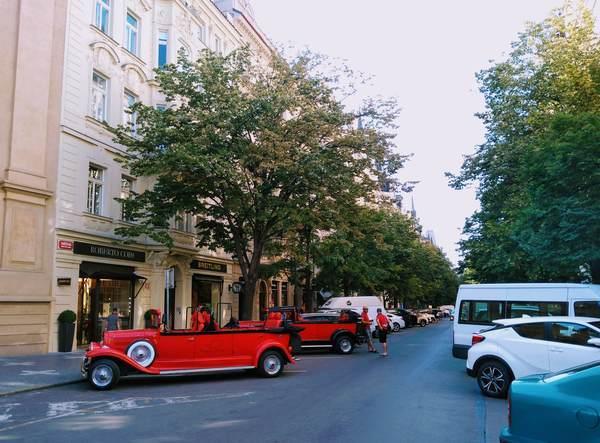 プラハのパリ通り