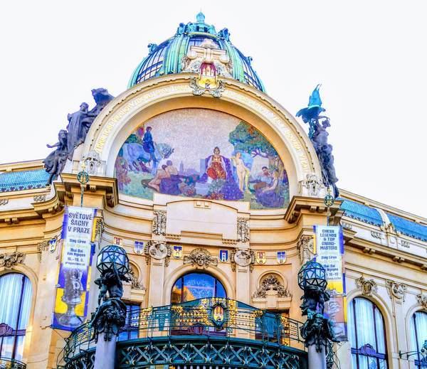 プラハ市民会館の装飾
