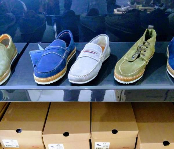 チェコのお洒落な靴