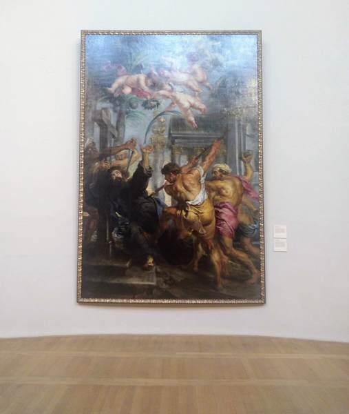 ルーベンス『聖トマスの殉教』の絵画