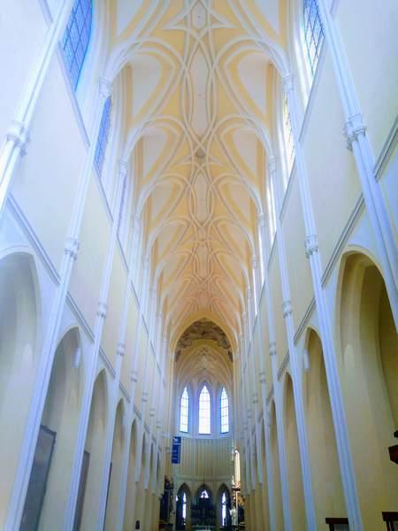 聖母マリア大聖堂の天井