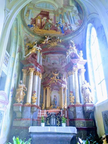 聖母マリア大聖堂の天井画
