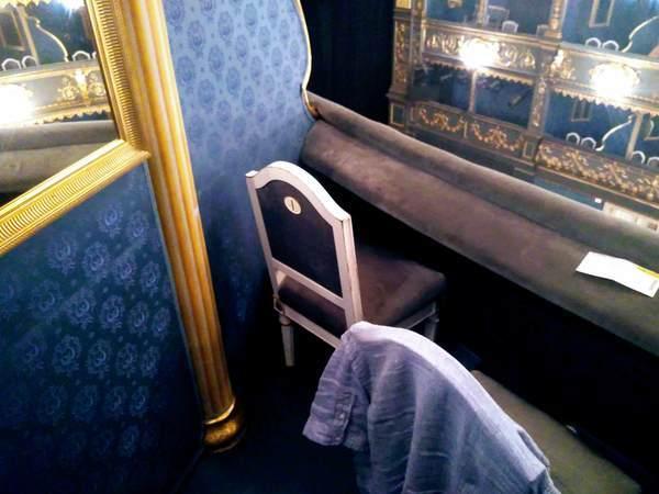 エステート劇場のボックス席の雰囲気