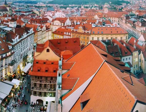 旧市庁舎の時計塔から見た景色