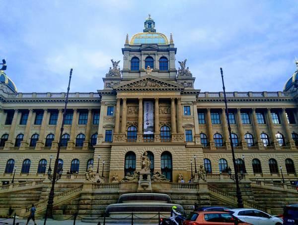 プラハ国立博物館の外観