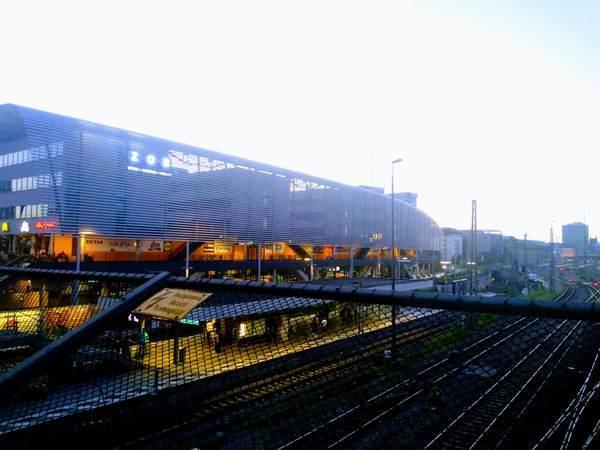 ミュンヘンのバスターミナル