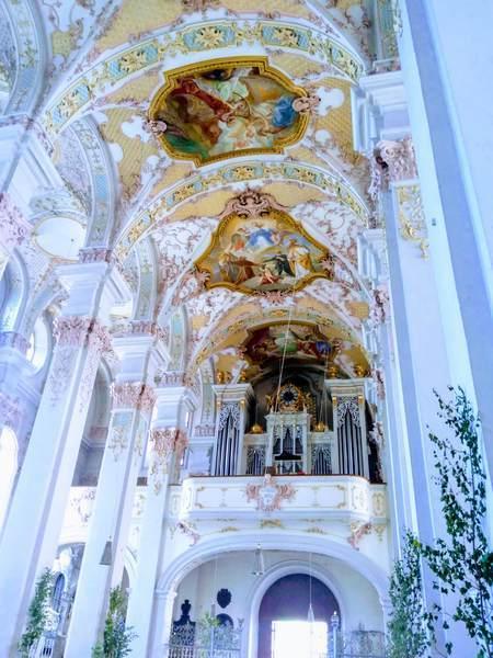 聖ペーター教会の天井画