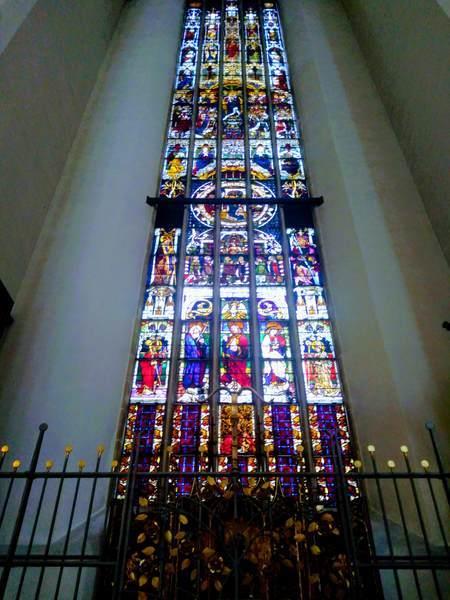 フラウエン教会のステンドグラス