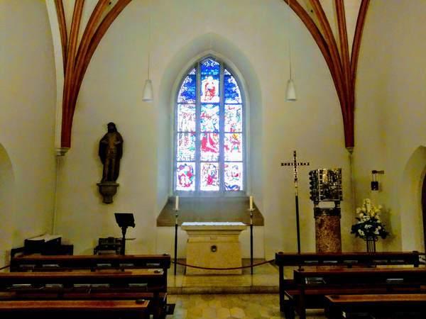 フラウエン教会の地下礼拝所
