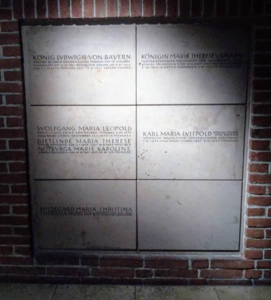 ヴィッテルスバッハ家の地下霊廟