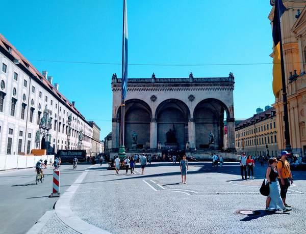 ミュンヘン市内にある歴史的建造物