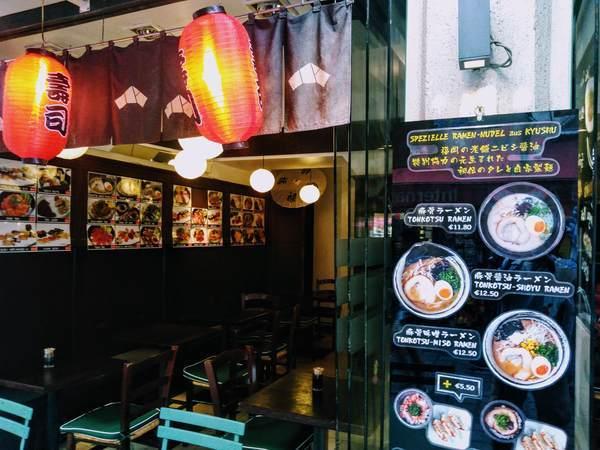 海外の日本食レストラン