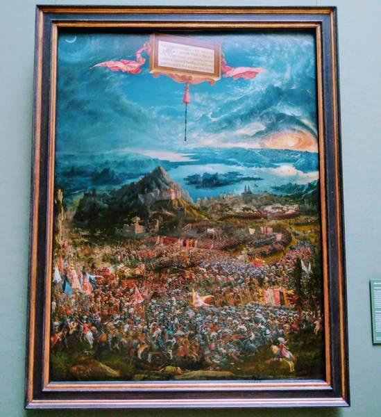 アルブレヒト・アルトドルファー『アレクサンダー大王の戦い』(The Battle of Issus)