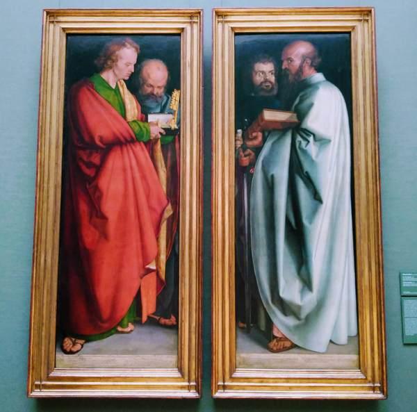 デューラーの『四人の使徒』