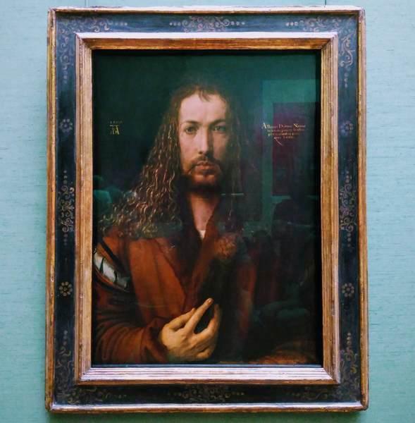 デューラーの『自画像』