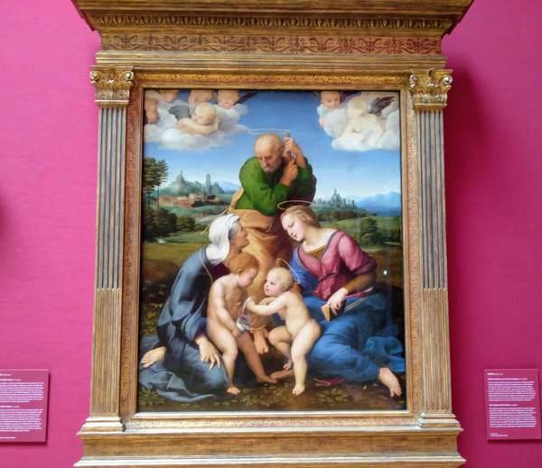 ラファエロの『カニジャーニの聖家族』