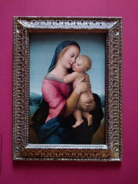 ラファエロの『テンピの聖母』(The Tempi Madonna)