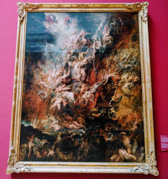 ルーベンスの『地獄堕ち』