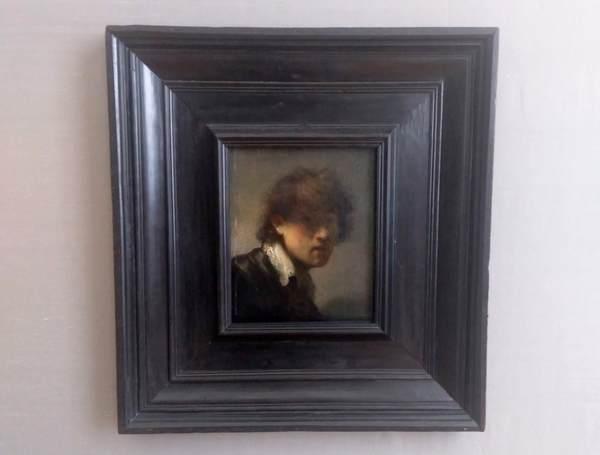 レンブラントの『自画像』