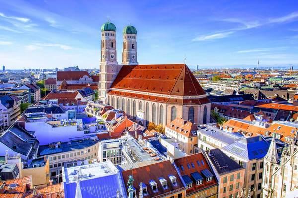 ミュンヘンのフラウエン教会(聖母教会)