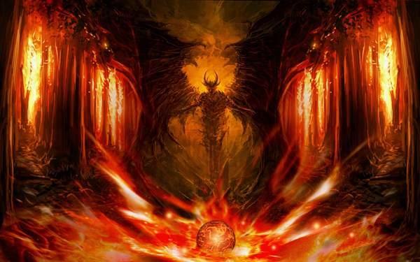 悪魔のイメージ