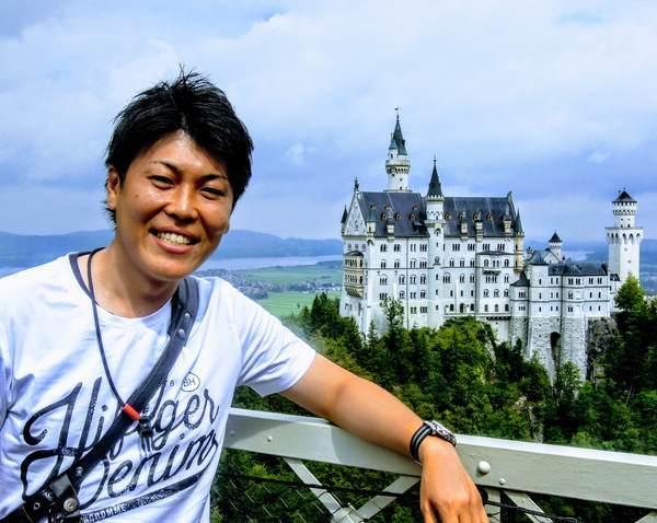 ノイシュヴァンシュタイン城の撮影スポット