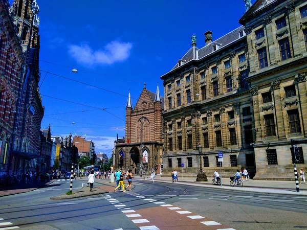 アムステルダム旧市街の景観