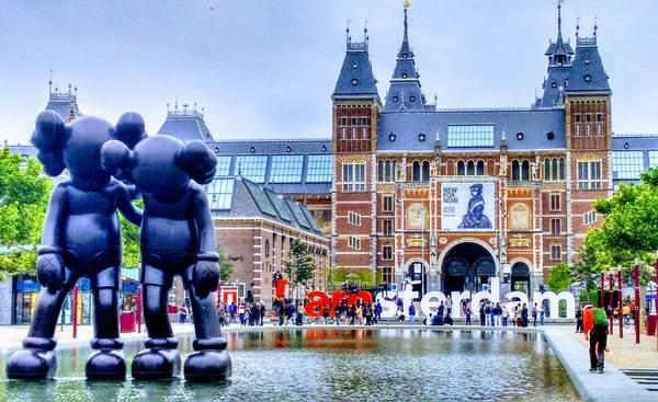 アイアムステルダムのオブジェ