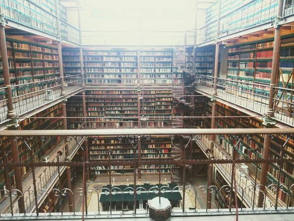 カイパース図書館 世界一美しい図書館
