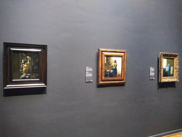 アムステルダム国立美術館にあるフェルメールの絵画