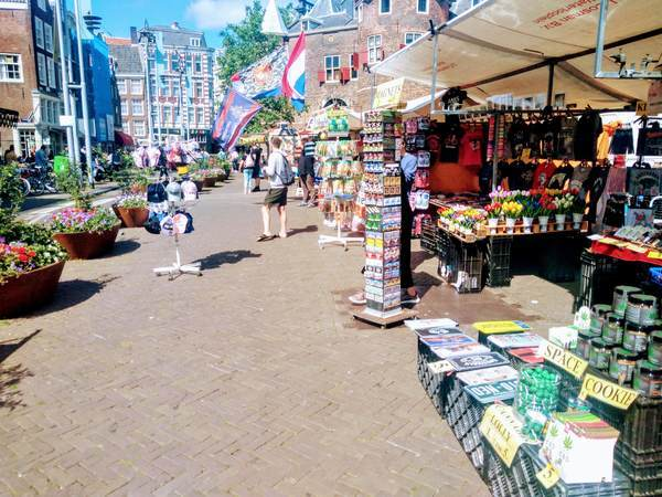 アムステルダムの市場