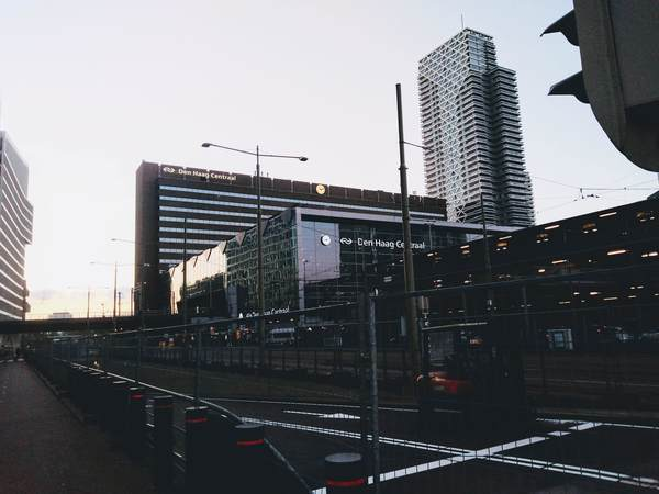 デン・ハーグ駅の外観