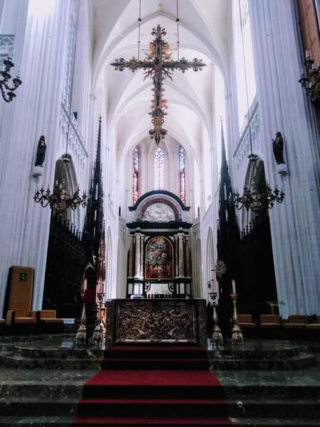 アントワープにある聖母大聖堂の雰囲気