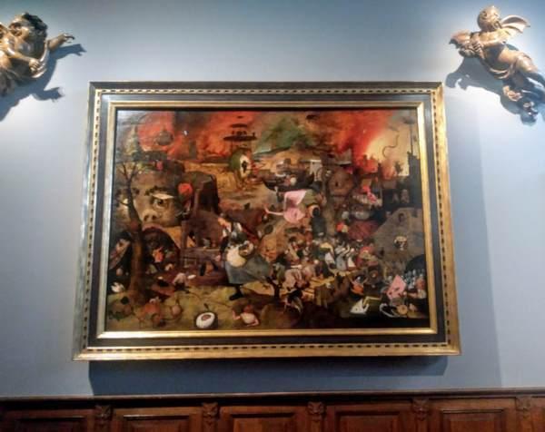 ピーテル・ブリューゲル(父)の絵画「悪女フリート」