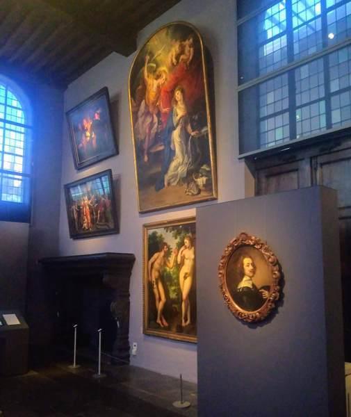 ルーベンスハウスに展示されている絵画