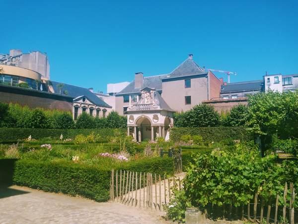 ルーベンスハウスの庭園