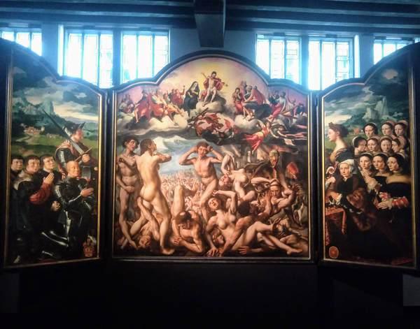 The Last Judgement by Jan van Hemessen