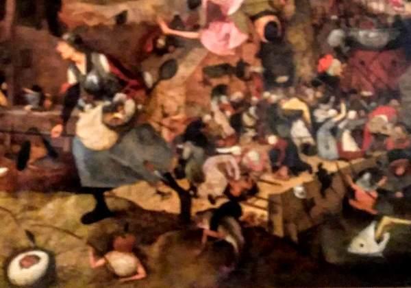 ピーテル・ブリューゲル(父)の絵画「悪女フリート」の拡大