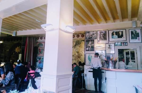 ラ・メール・プラールの店内の雰囲気