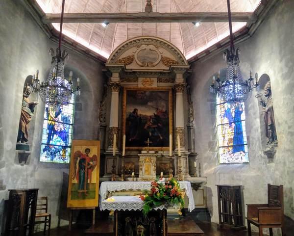 サンピエール教会の内部