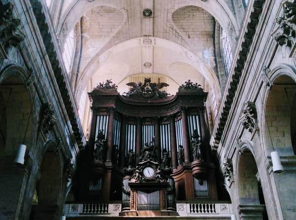 サン・シュルピス教会にあるパイプオルガン
