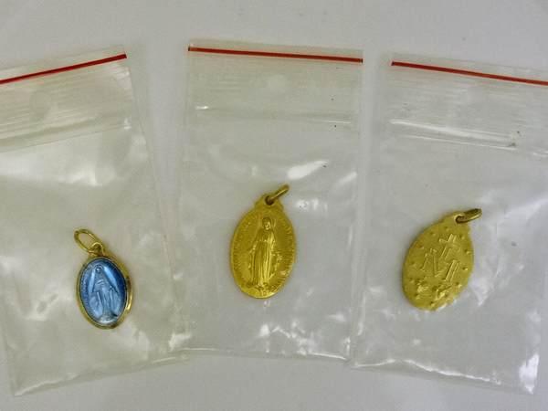 奇跡のメダイユ教会のメダル