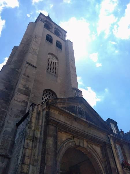 サン・ジェルマン・デ・プレ教会の鐘楼