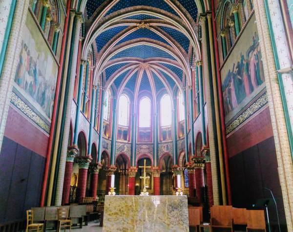 サン・ジェルマン・デ・プレ教会のロマネスク様式の装飾