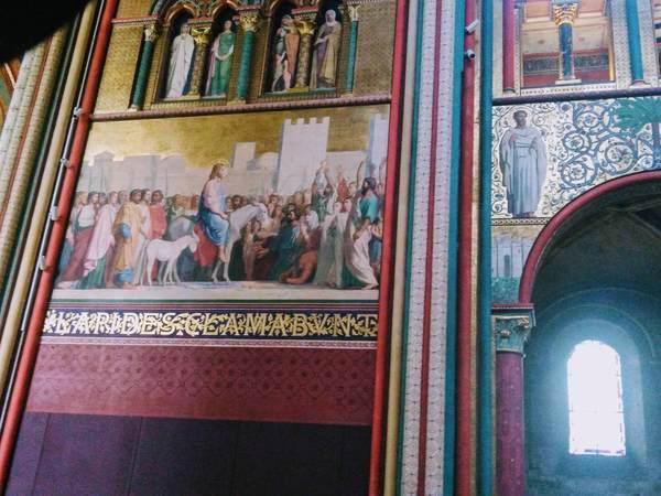 サン・ジェルマン・デ・プレ教会の壁画
