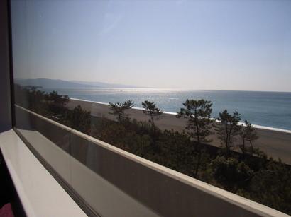 砂浜が続く海岸@ごめん・なはり線