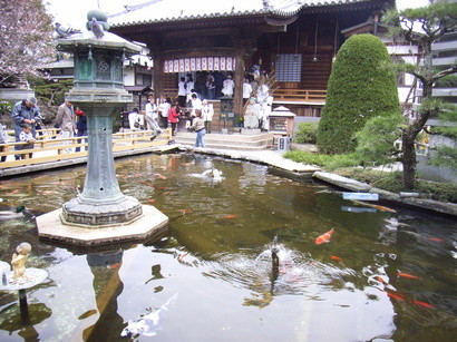 霊山寺の池